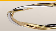 Bracelets from Goldsmiths in our jewellery category banner