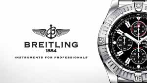 Breitling Watches at Goldsmiths banner