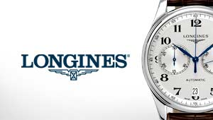 Longines Watches at Goldsmiths Banner