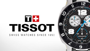 Tissot Watches at Goldsmiths Banner