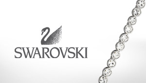 Swarovski jewellery at Goldsmiths banner