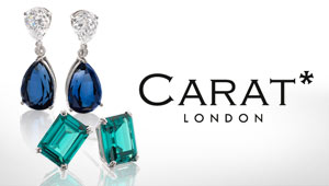 Carat London jewellery at Goldsmiths banner