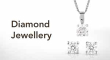 Diamond jewellery at Goldsmiths banner