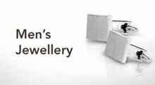 Men's jewellery at Goldsmiths banner