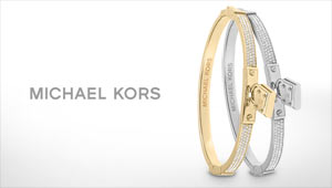 Michael Kors jewellery at Goldsmiths banner