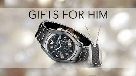 Gifts for him from Goldsmiths banner