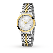 Gucci Timeless Bi-Colour Ladies Watch