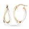 For Her - 9ct Gold Hoop Earrings