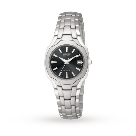 Citizen Exclusive EcoDrive Ladies Titanium Watch