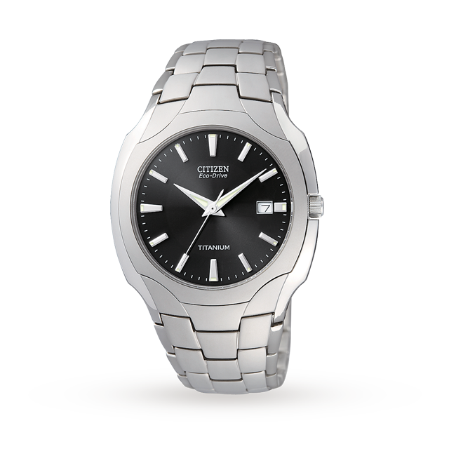 Citizen EcoDrive Gents Titanium Watch