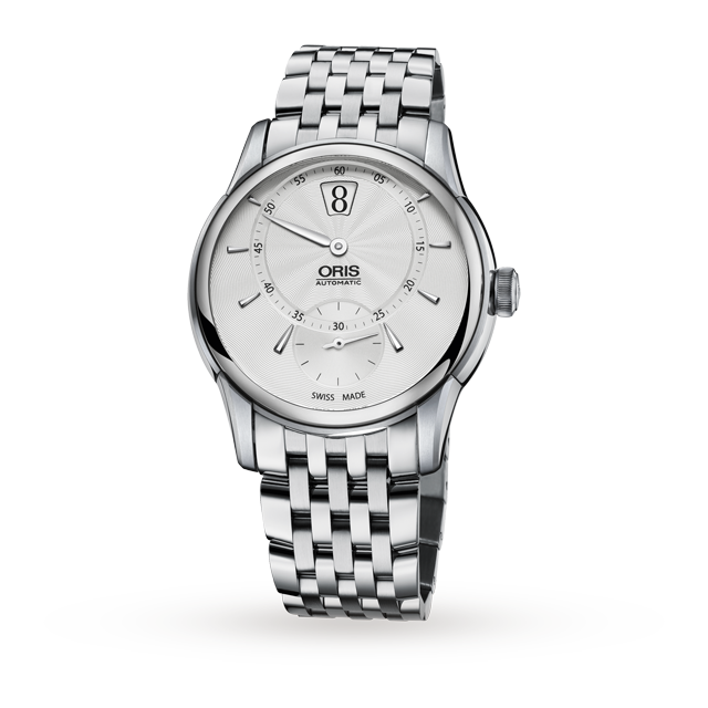 Oris Artelier Jumping Hour Mens Watch