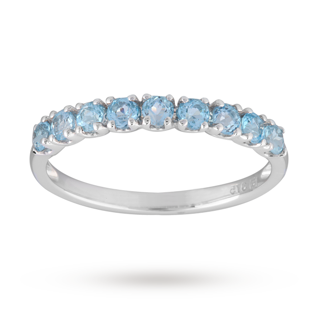 buy cheap topaz eternity ring compare s jewellery